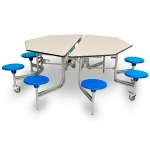 8 Seater Octagonal Folding Dining Table
