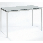 MDF Edge Fully welded rectangular classroom table