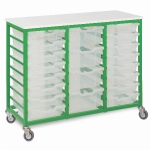 18 Shallow Tray Unit Mobile
