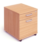 2 Drawer Under Desk Pedestal
