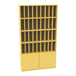 36 Pigeon Hole Post Unit with Cupboard